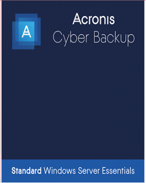 Acronis Cyber Backup 12.5 Standard for Windows Server Essentials
