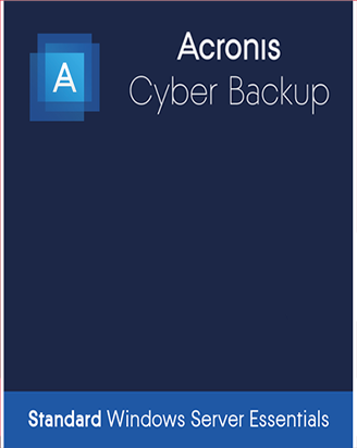 Acronis Cyber Backup 12.5 Standard for Windows Server Essentials
