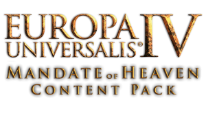 Europa Universalis IV: Mandate of Heaven -Content Pack (NEW)