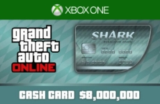 GTA ONLINE: MEGALODON CASH CARD