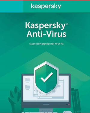 Kaspersky Anti-Virus 1-Desktop 1 year