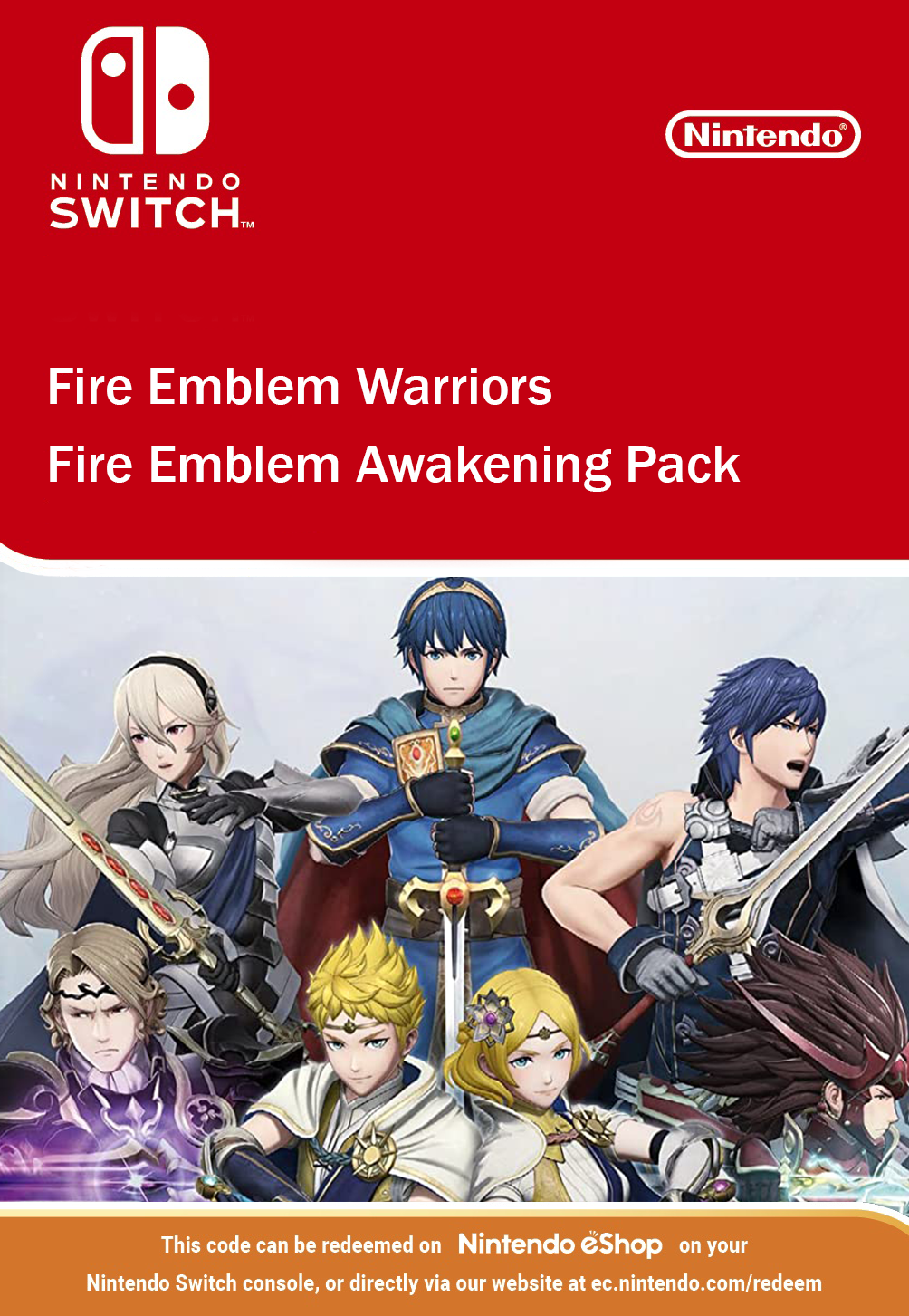 Fire Emblem Warriors: Fire Emblem Awakening Pack DLC Nintendo Switch