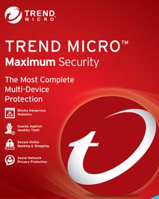 Trend Micro Maximum Security 3-Desktop 2 year