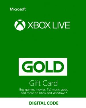 Xbox Live Gold 12 Months EU