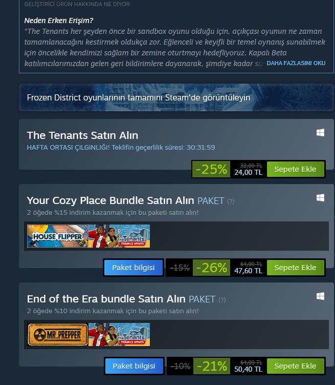 Steam Oyun Satın Alma