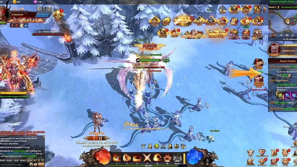 League Of Angels Heaven's Fury Nedir?